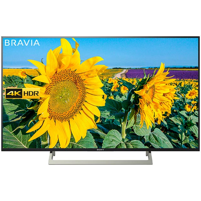 "Sony Bravia KD55XF8096BU 55"" Smart 4K Ultra HD TV with HDR and YouView HD - Black - [A Rated]"