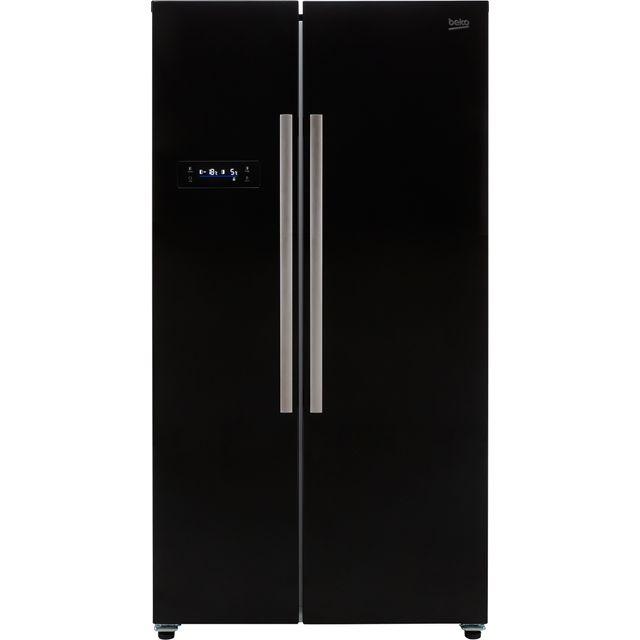 Beko ASL1331B American Fridge Freezer - Black - F Rated