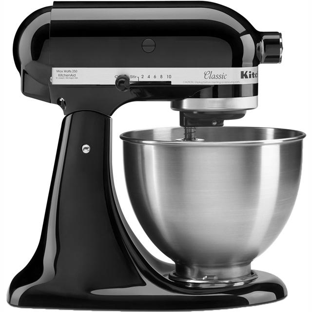 KitchenAid 5K45SSBOB Stand Mixer with 4.3 Litre Bowl - Black