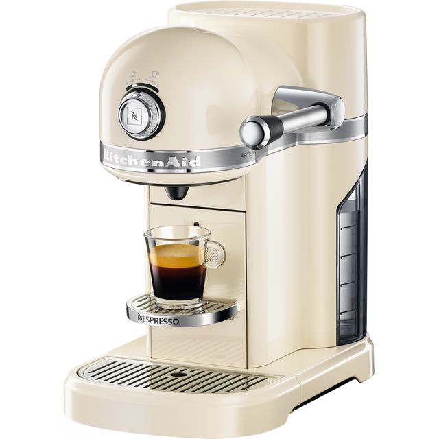 Nespresso By KitchenAid Artisan 5KES0503BAC Artisan Coffee Machine - Cream