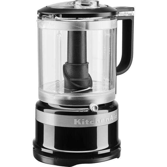 Image of KitchenAid 5KFC0516BOB 240 Watt Chopper Mini Food Processor - Onyx Black