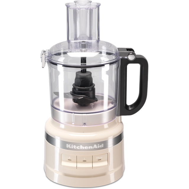 KitchenAid 5KFP0719BAC Food Processor With 4 Accessories - Almond Cream - 5KFP0719BAC_CR - 1