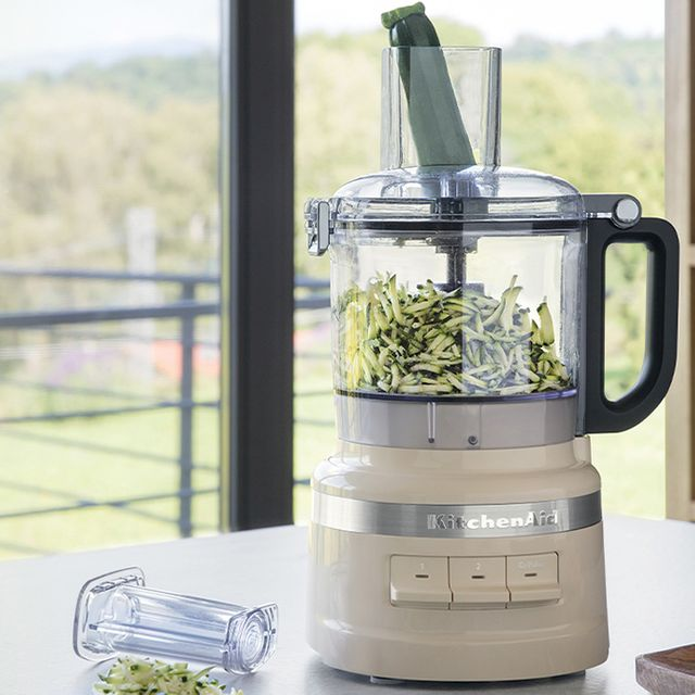 Image of KitchenAid 5KFP0719BAC 1.7 Litre Food Processor With 4 Accessories - Almond Cream