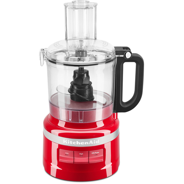 KitchenAid 5KFP0719BER Food Processor With 4 Accessories - Empire Red