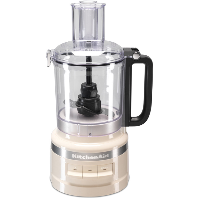 KitchenAid 5KFP0919BAC Food Processor With 4 Accessories - Almond Cream - 5KFP0919BAC_CR - 1
