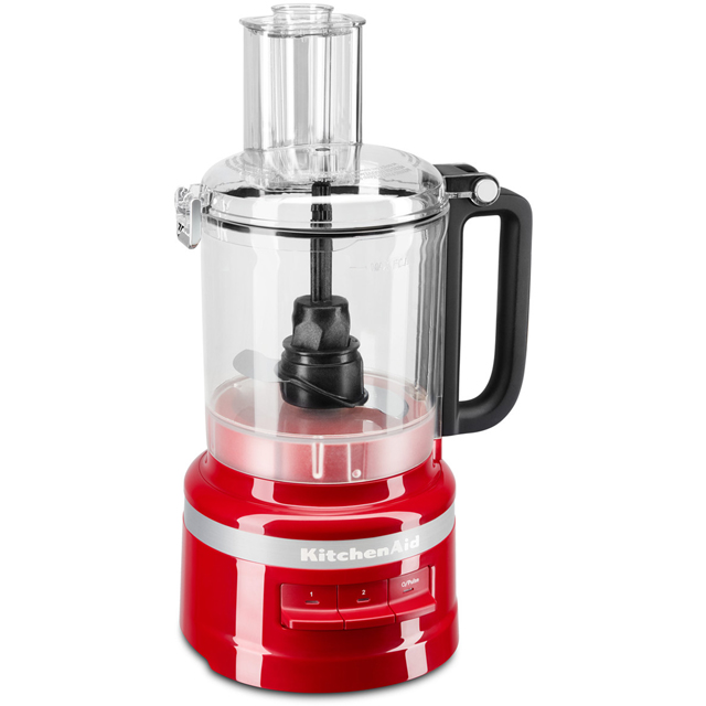 KitchenAid 5KFP0919BER Food Processor With 4 Accessories - Empire Red