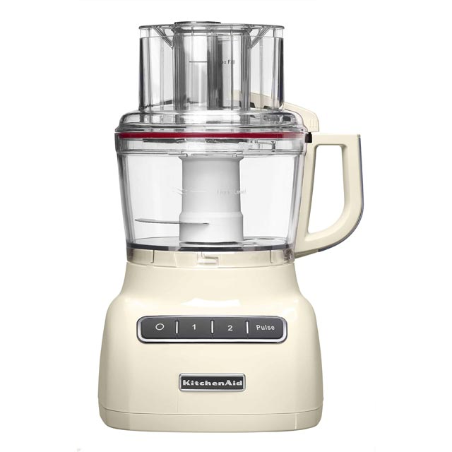 KitchenAid 2.1 Litre 5KFP0925BAC 2.1 Litre Food Processor With 2 Accessories - Almond Cream