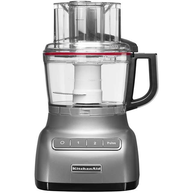 KitchenAid 2.1 Litre 5KFP0925BCU 2.1 Litre Food Processor With 2 Accessories - Contour Silver