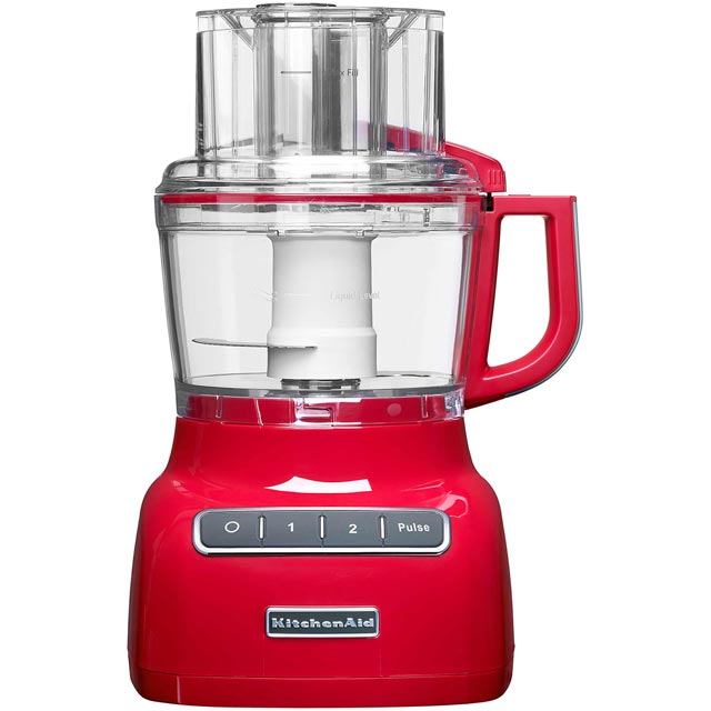 KitchenAid 2.1 Litre 5KFP0925BER 2.1 Litre Food Processor With 2 Accessories - Empire Red