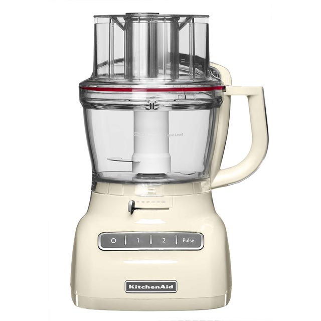 KitchenAid 5KFP1335BAC 3.1 Litre Food Processor With 4 Accessories - Almond Cream - 5KFP1335BAC_CR - 1