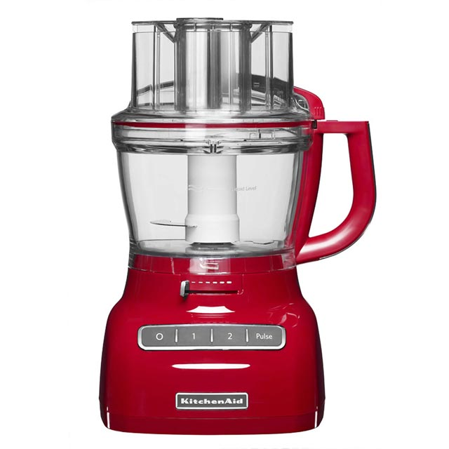 KitchenAid 5KFP1335BER 3.1 Litre Food Processor With 4 Accessories - Empire Red - 5KFP1335BER_RD - 1