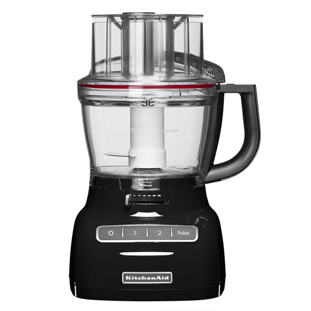 KitchenAid 5KFP1335BOB 3.1 Litre Food Processor With 4 Accessories - Onyx Black - 5KFP1335BOB_BK - 1
