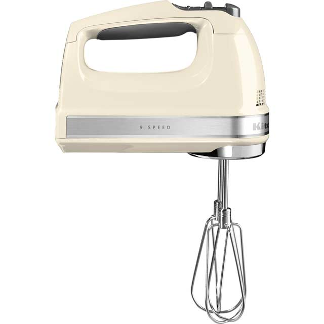 KitchenAid 5KHM9212BAC Hand Mixer with 3 Accessories - Almond Cream - 5KHM9212BAC_CR - 1