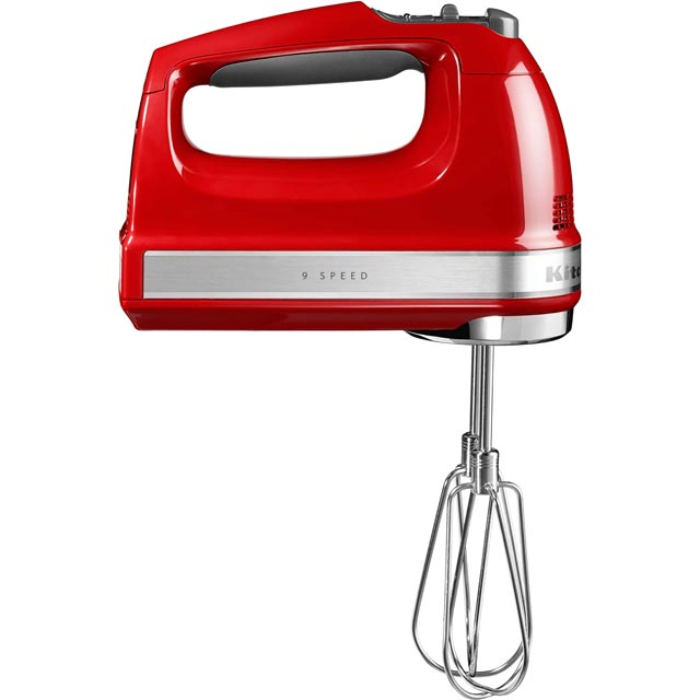 KitchenAid 5KHM9212BER Hand Mixer with 3 Accessories - Empire Red - 5KHM9212BER_RD - 1