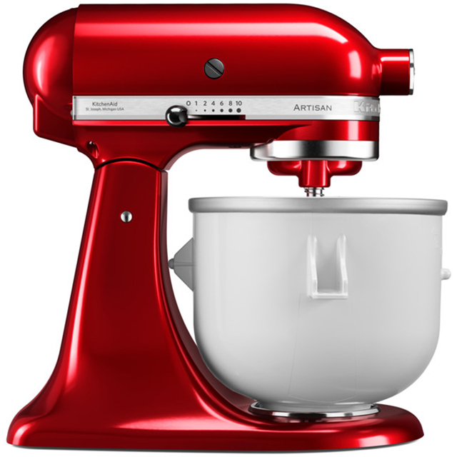 KitchenAid 5KICA0WH Food Mixer Attachment - Ice Cream Maker Attachment - 5KICA0WH_WH - 1