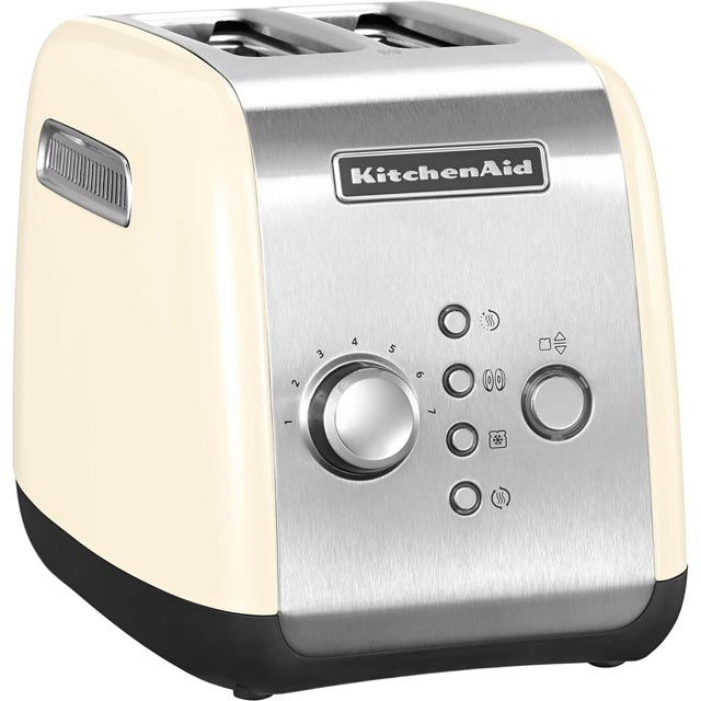KitchenAid 5KMT221BAC 2 Slice Toaster - Almond Cream - 5KMT221BAC_CR - 1