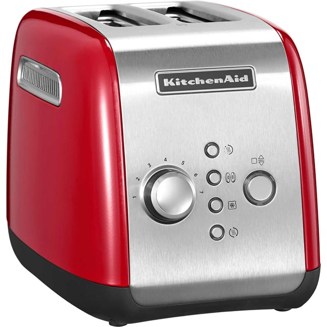 KitchenAid 5KMT221BER 2 Slice Toaster - Empire Red