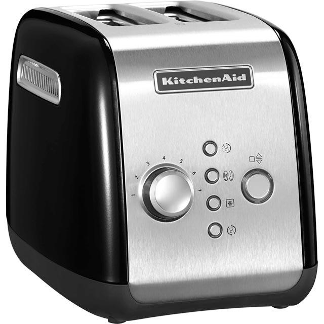 Image of KitchenAid 5KMT221BOB 2 Slice Toaster - Onyx Black