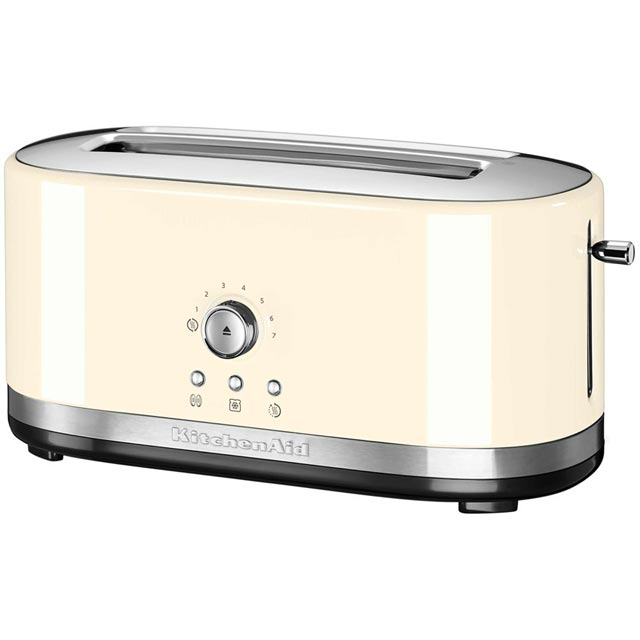 KitchenAid 5KMT4116BAC 4 Slice Toaster - Almond Cream - 5KMT4116BAC_CR - 1