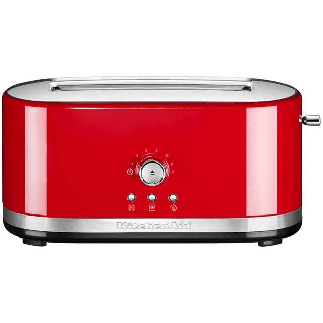 KitchenAid 5KMT4116BER 4 Slice Toaster - Empire Red