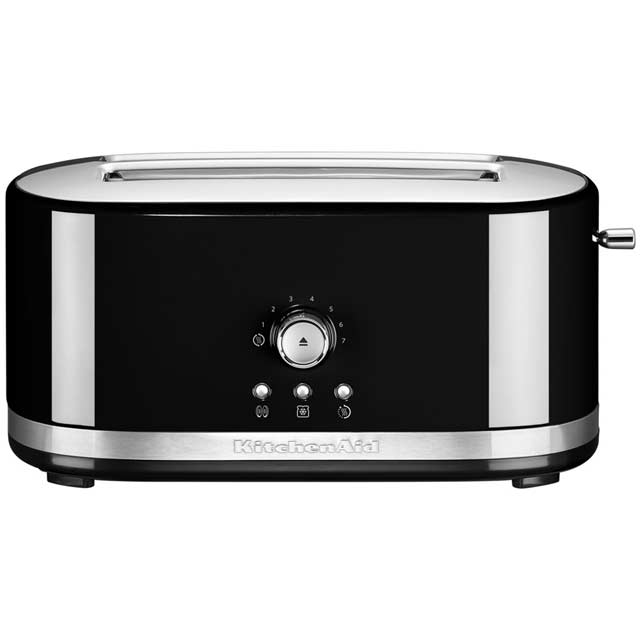 KitchenAid 5KMT4116BOB 4 Slice Toaster - Onyx Black