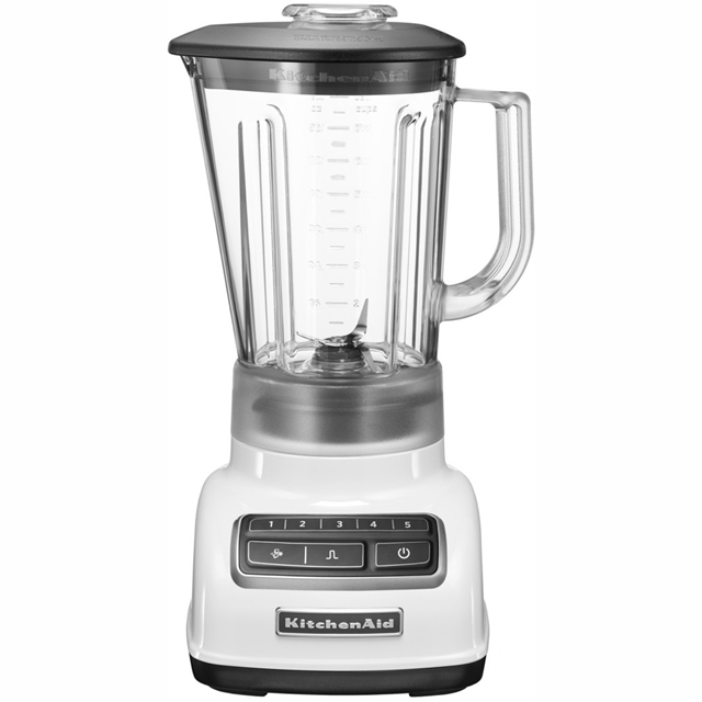 KitchenAid 5KSB1565BWH 1.75 Litre Blender - White - 5KSB1565BWH_WH - 1