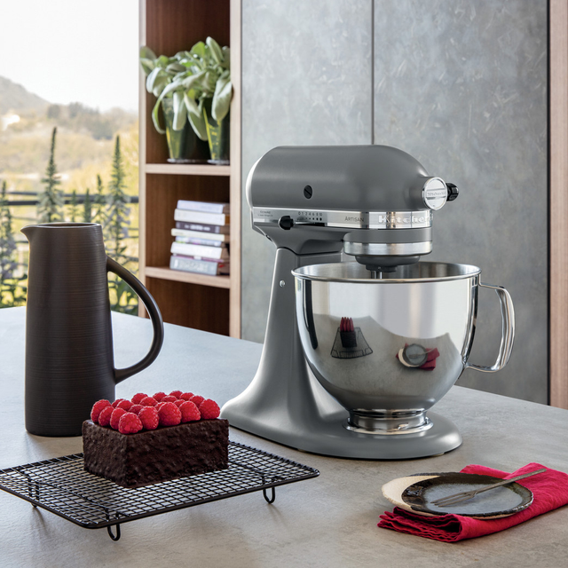 KitchenAid Artisan 5KSM125BFG Stand Mixer with 4.8 Litre Bowl - Grey