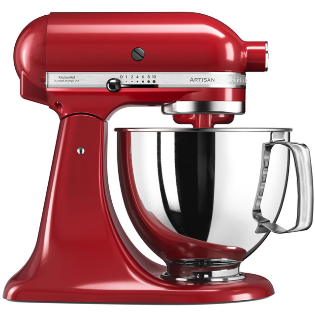 KitchenAid Artisan 5KSM175PSBER Stand Mixer with 4.8 Litre Bowl - Empire Red
