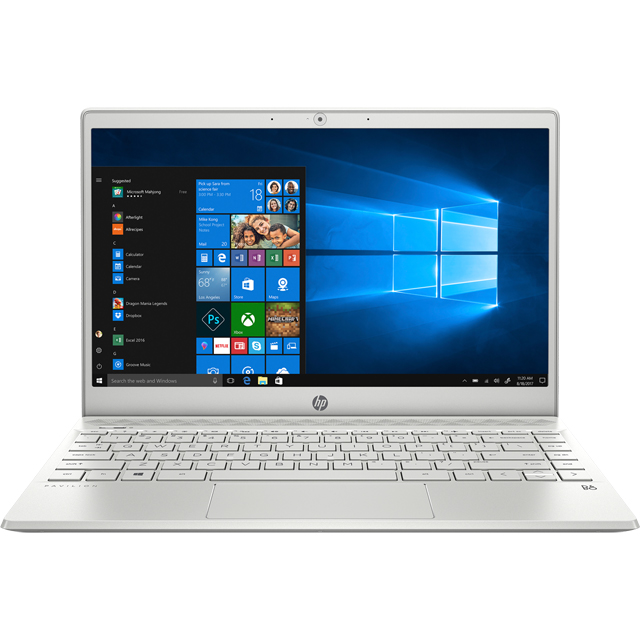 "HP Pavilion 13-an0006na 13.3"" Laptop - Natural Silver - 5MM33EA#ABU - 1"