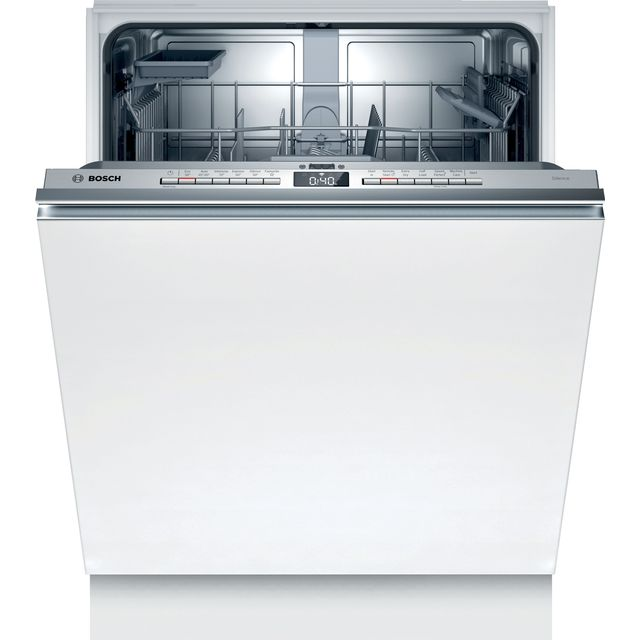 Bosch Serie 4 SMV4HAX40G Wifi Connected Fully Integrated Standard Dishwasher - Stainless Steel Control Panel - D Rated
