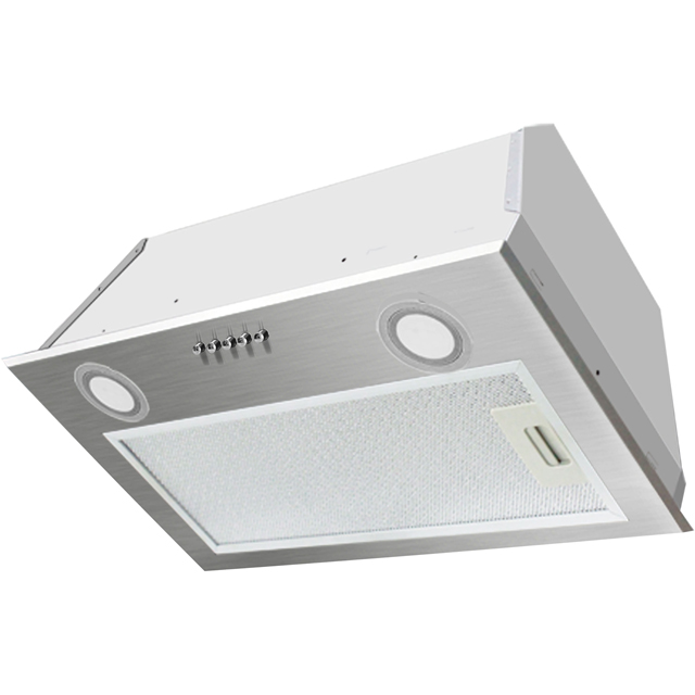 Belling Unbranded 60 UCH 52 cm Canopy Cooker Hood - Silver - B Rated - 60 UCH_SI - 1
