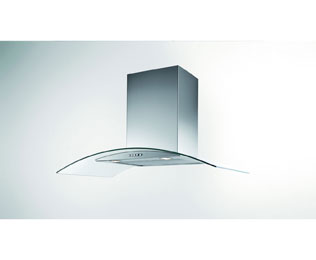 Product image for Newworld Unbranded 600CGH 60 cm Chimney Cooker Hood - Stainless Steel