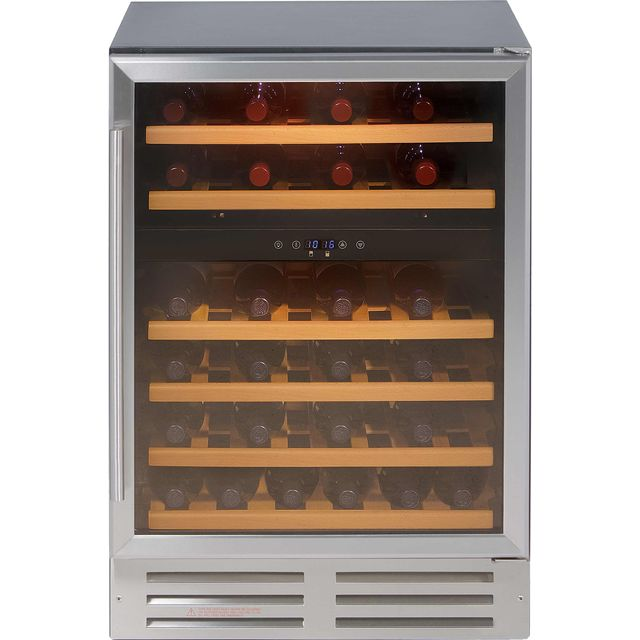 Belling Unbranded 600SSWC Built In Wine Cooler - Stainless Steel - 600SSWC_SS - 1