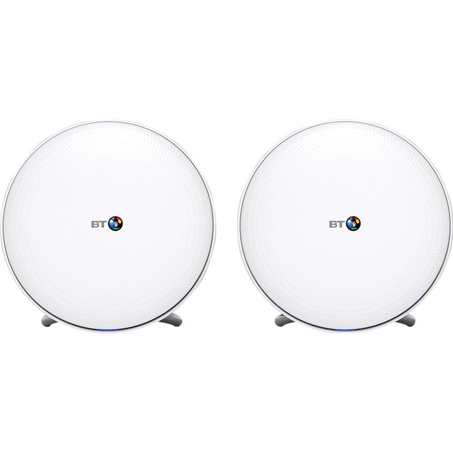 BT Whole Home WiFi (2-Pack) for Mesh Network - AC2500Mbps
