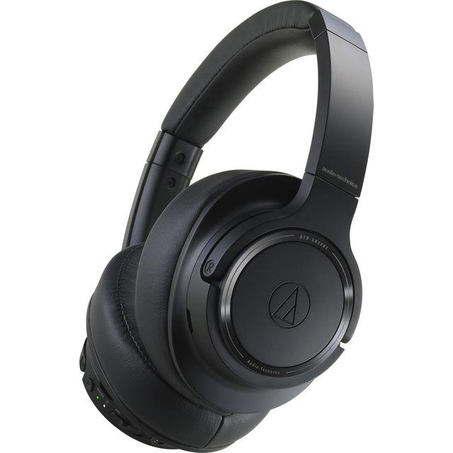 Image of Audio Technica ATH-SR50BT Head-band Bluetooth Headphones - Black