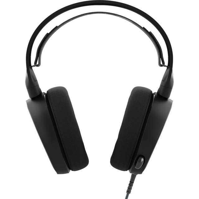 SteelSeries Arctis 3 61433 Headset in Black / Alutec