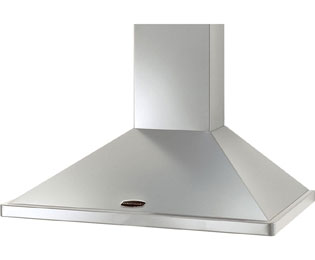 Rangemaster LEIHDC90SC 90 cm Chimney Cooker Hood - Stainless Steel - E Rated - LEIHDC90SC_SS - 1