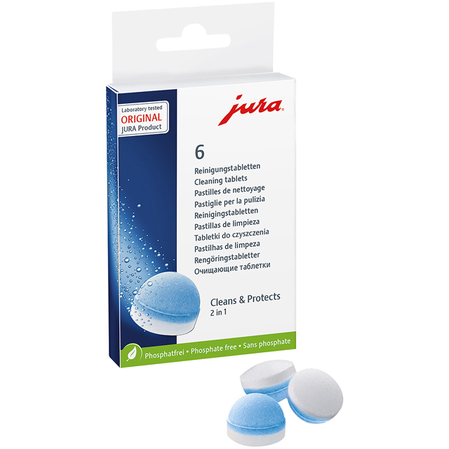 Jura 62715 2 Phase Cleaning Tablets - 62715_BL - 1