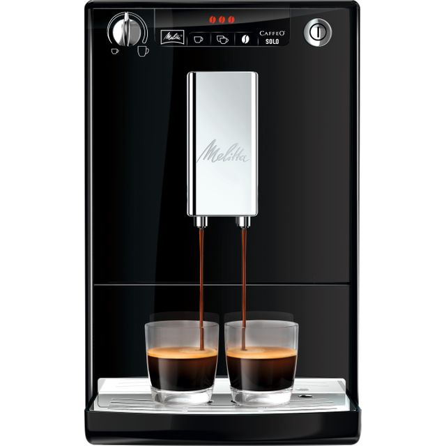 Melitta Caffeo Solo 6553104 Bean to Cup Coffee Machine - Black