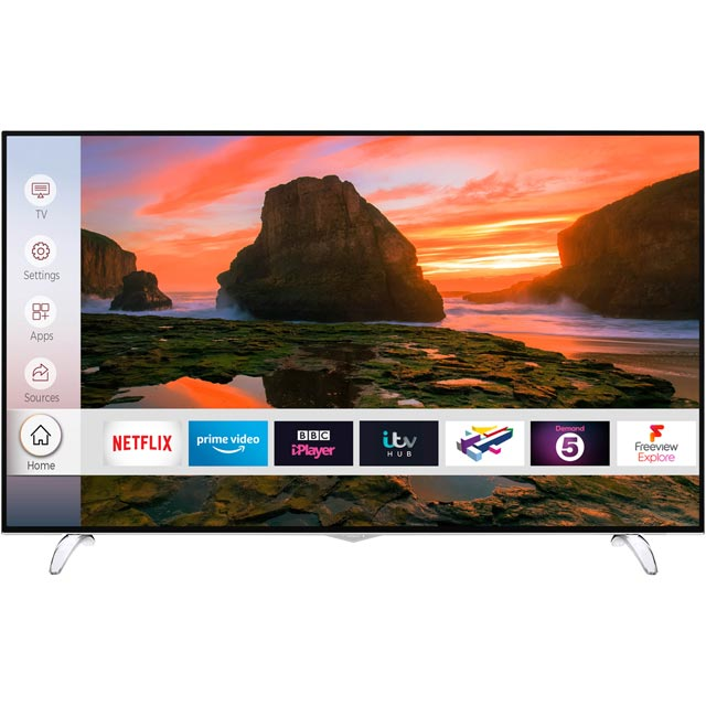 Techwood O8UHD 65AO8UHD Led Tv in Black