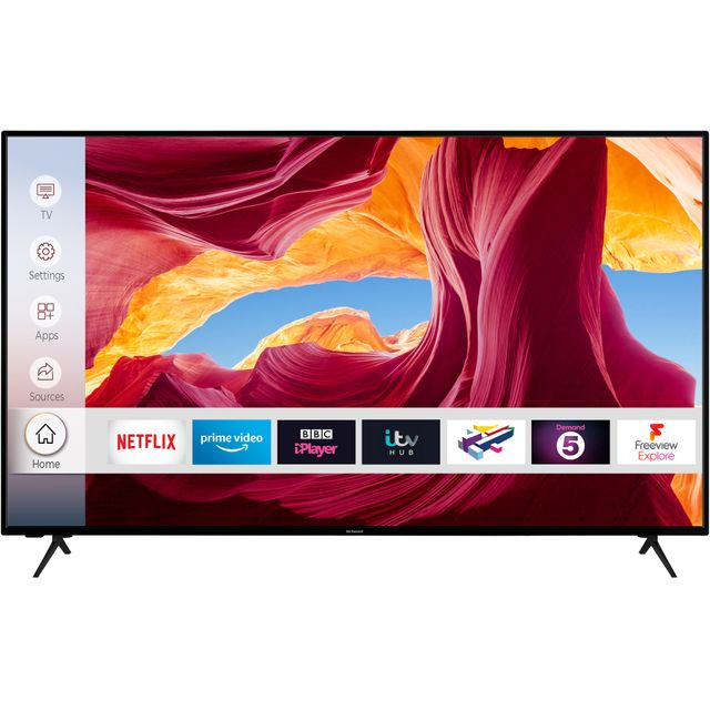 "Techwood 65AO9UHD 65"" Smart 4K Ultra HD TV With Dolby Vision and Works With Alexa"