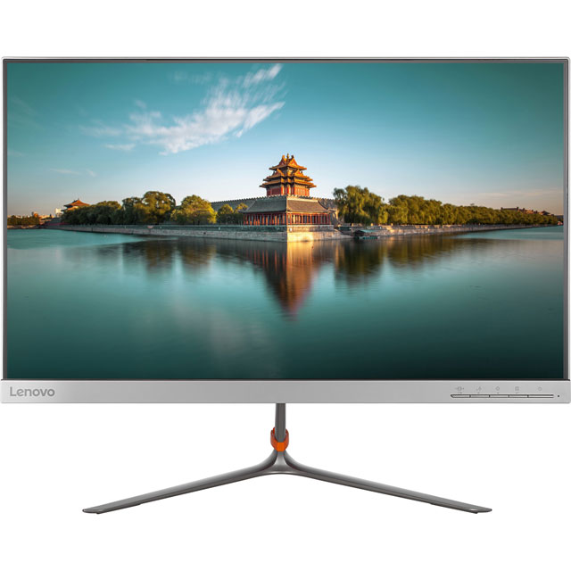 "Lenovo Quad HD 23.8"" 60Hz Monitor - Silver"