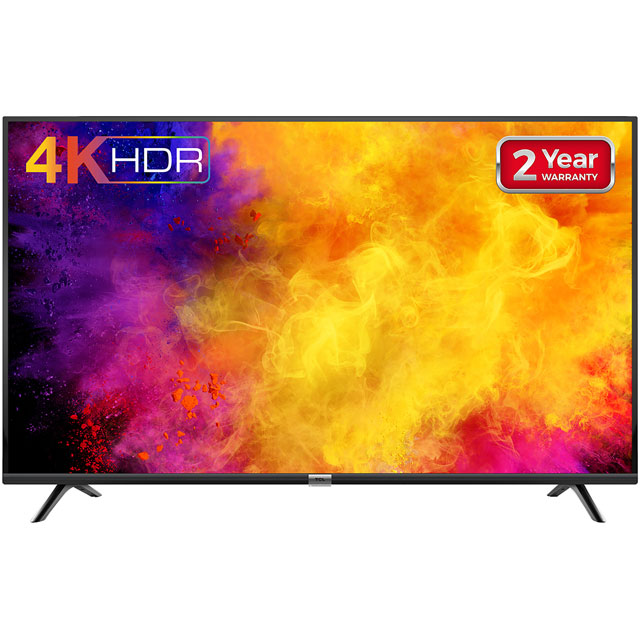 "TCL 65DP628 65"" Smart 4K Ultra HD TV with HDR10 and Freeview Play - 65DP628 - 1"