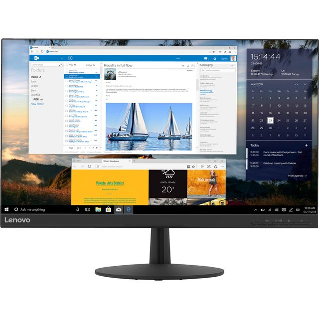 "Lenovo L24q-30 Quad HD 23.8"" 75Hz Monitor with AMD FreeSync"