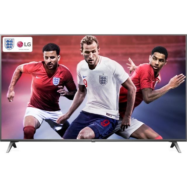 "LG 65SK8000PLB 65"" Smart 4K Ultra HD TV with HDR and Freeview Play - Titan Silver - [A+ Rated] - 65SK8000PLB - 1"