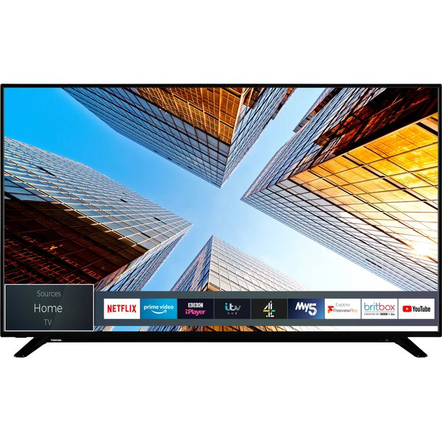 "Toshiba 65UL2063DB 65"" Smart 4K Ultra HD TV - Black - 65UL2063DB - 1"