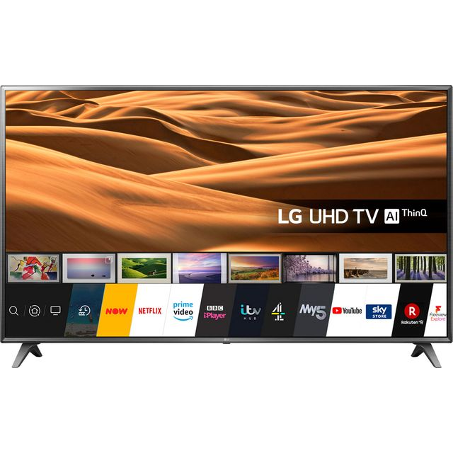 "LG 65UM7050PLA 65"" Smart 4K Ultra HD TV With HDR and Freeview Play"