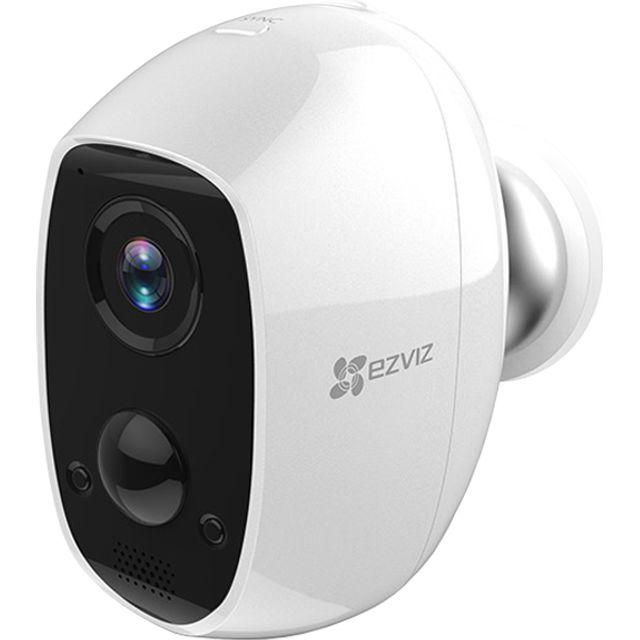 Image of EZVIZ C3A WiFi Outdoor Battery Camera Full HD 1080p - White