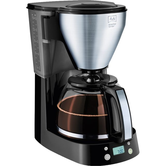 Melitta EasyTop Timer 6758193 Filter Coffee Machine with Timer - Black - 6758193_BK - 1