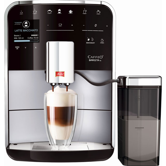 Melitta Caffeo Barista TS 6758349 Bean To Cup in Silver